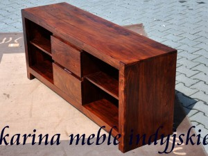 meble kolonialne - szafka pod tv - LD-625 brown