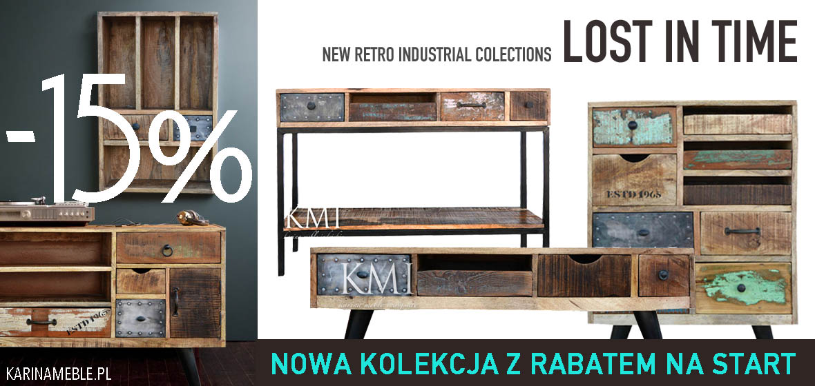 meble loftowe retro