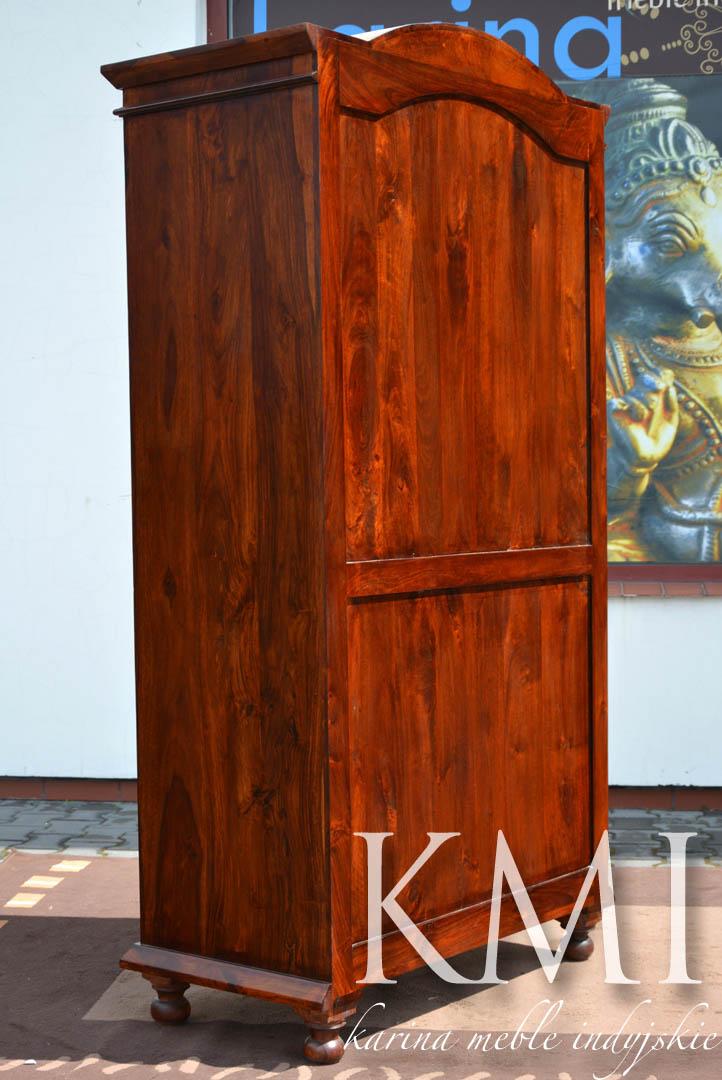 szafa z palisandru indyjskiego ld3062 brown meble loftowe