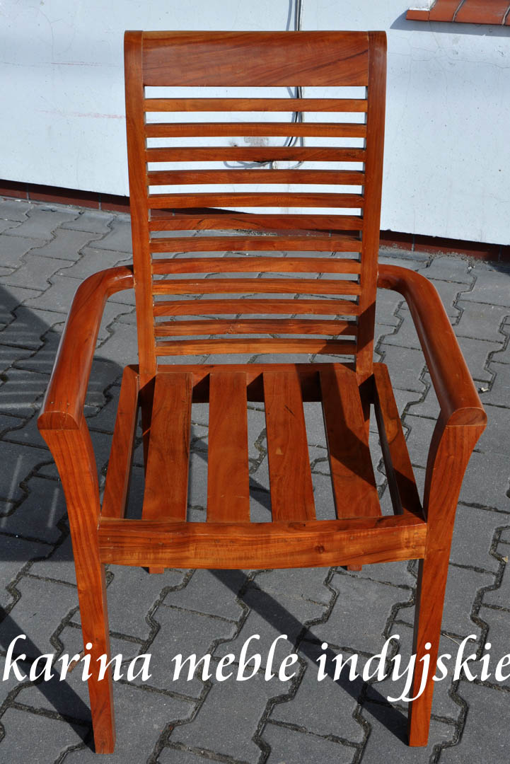 fotel ld1131 teak meble loftowe industrialne kolonialne