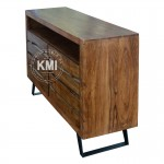 meble kolonialne | komoda Nature Line akacja light walnut