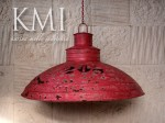 "industrialna lampa  XL ""Loft Colors"" M-2713 czerwona"