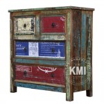 meble industrialne | komoda z szufladami old can M439