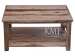 meble kolonialne jasne | stolik Cross natural