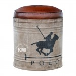 "meble designerskie | loftowa pufa ""Polo"""