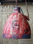 meble kolonialne | industrialna lampa loft colors M-4209 red vintage style