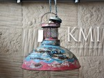 meble indyjskie | lampa industrialna loft colors M-3658 blue