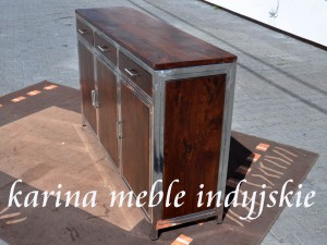 meble kolonialne - komoda LD-542 brown