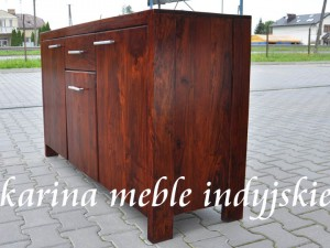 meble kolonialne -  komoda -  LD-537 brown