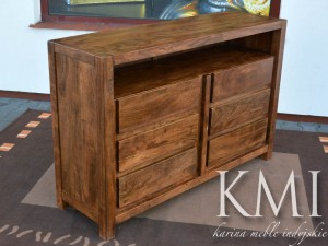 "komoda ""Ocean"" akacja light walnut"
