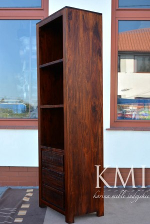 "biblioteczka ""ROSEWOOD STRIPES"" TC-007 brown"