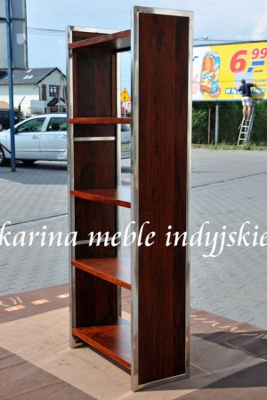 meble kolonialne - biblioteczka LD-547 brown