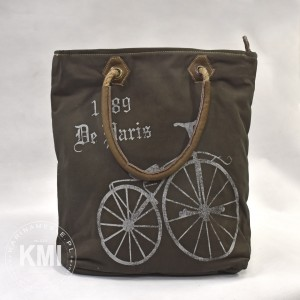 "torba ""Dirtbags"" z rowerem trykot canvas"