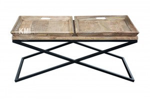"stolik vintage ""Tray Table"" 120x60"