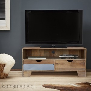 "szafka rtv ""Raw Wood"" EAC46"