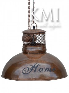 loftowa lampa  Home metal copper