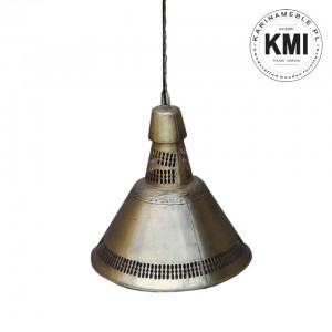 metalowa lampa industrialna brass