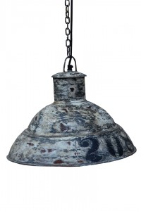 "industrialna lampa  ""Loft Colors"" M-3447 szara"