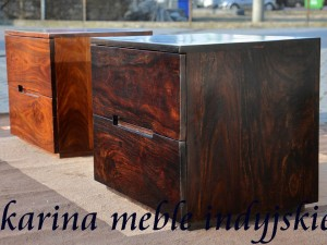 meble kolonialne - szafka LD-512 dark brown