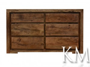 "komoda ""Tao"" akacja light walnut"