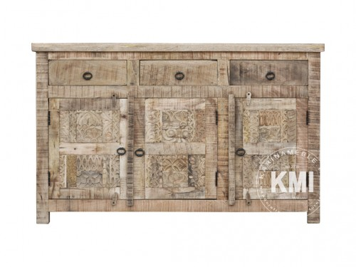 meble drewniane | komoda Yasmin 145 cm antique wood