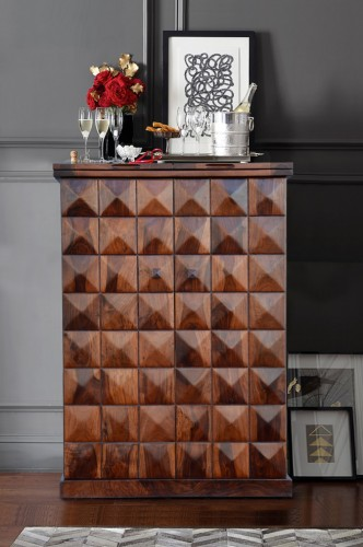 new york style interiors | bar diamond brown
