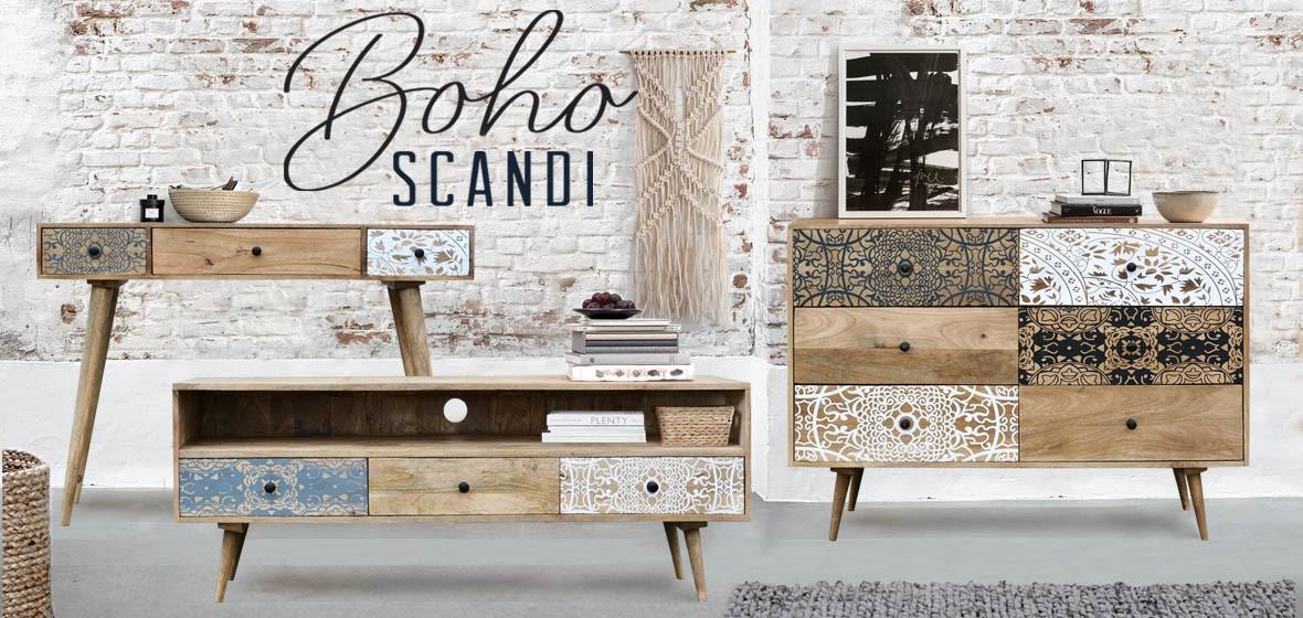Dodatkowe BOHO SCANDI | meble skandynawskie etno- strona1 - meble loftowe XF89