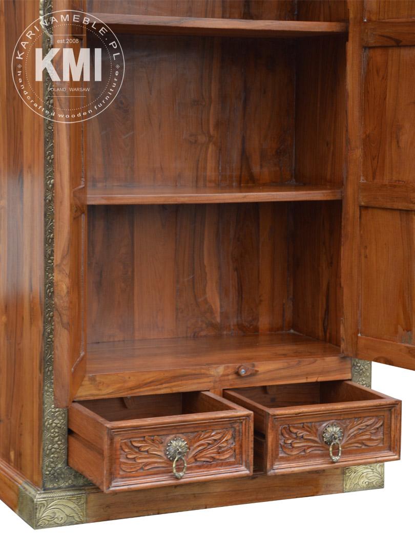 Szafa Indyjska Z Drewna Tekowego Ma1155 Meble Loftowe Industrialne