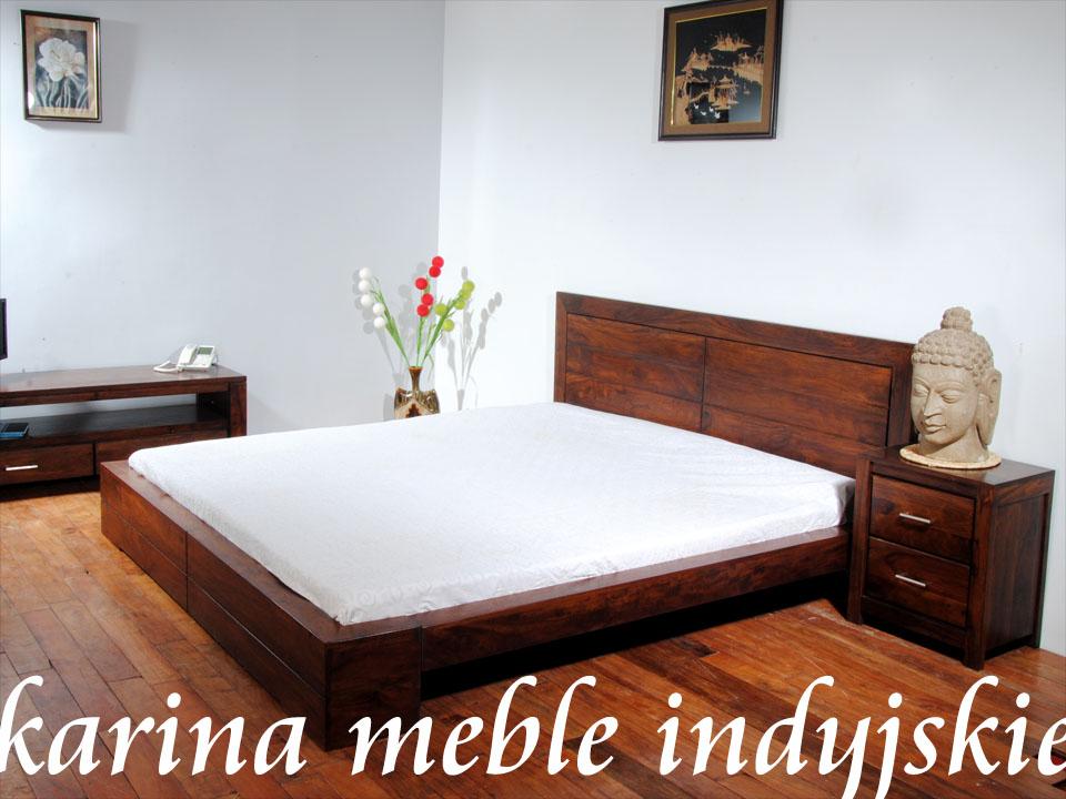 łóżko Zen Nac F10 117 160 Cm Brown