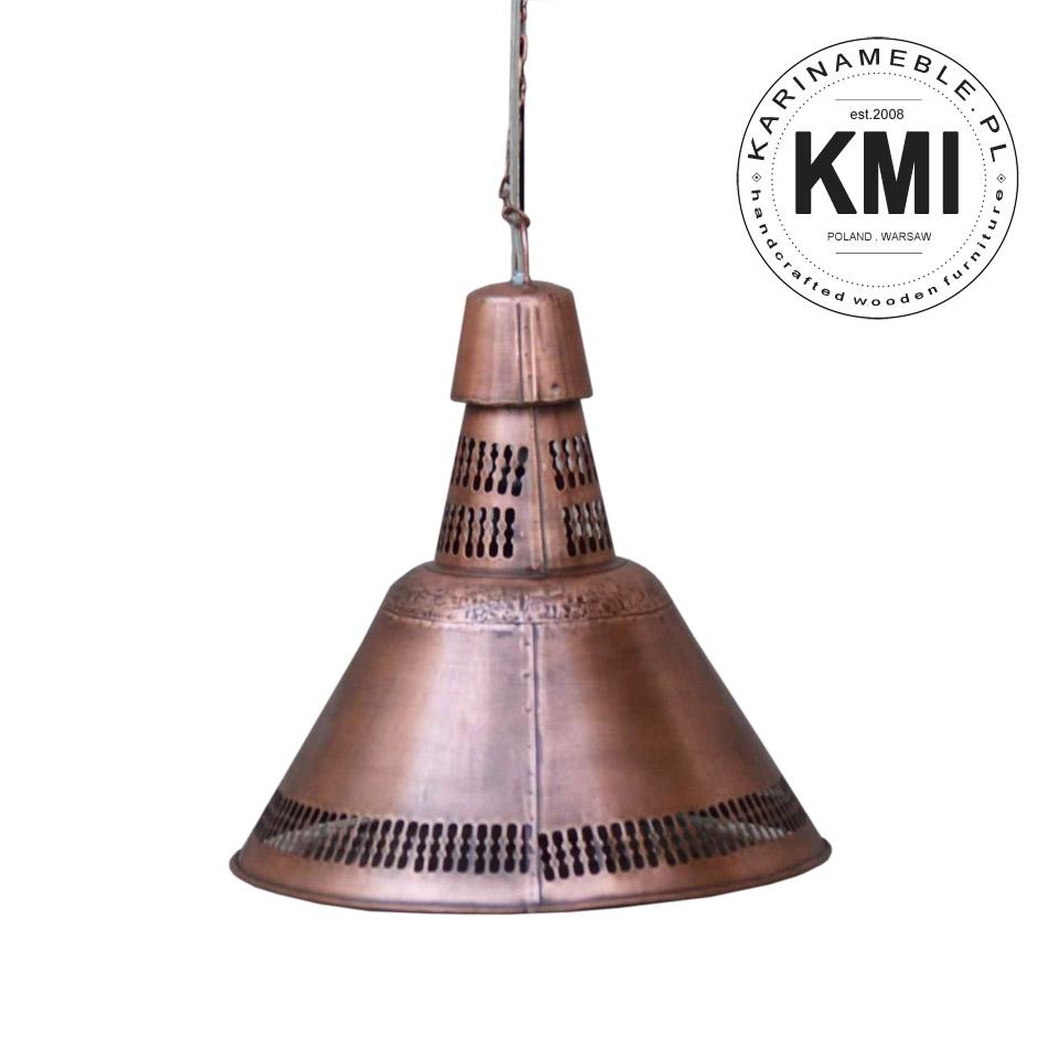 Metalowa Lampa Industrialna Copper Meble Loftowe Industrialne