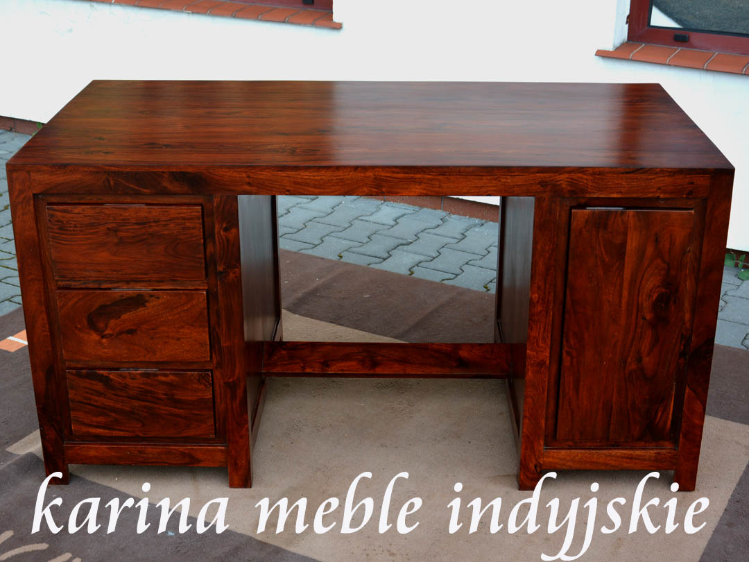 biurko quotmetroquot ld2119 brown meble loftowe industrialne