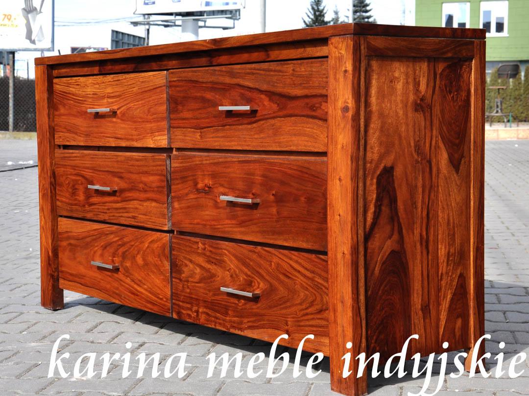 meble kolonialne meble drewniane komoda